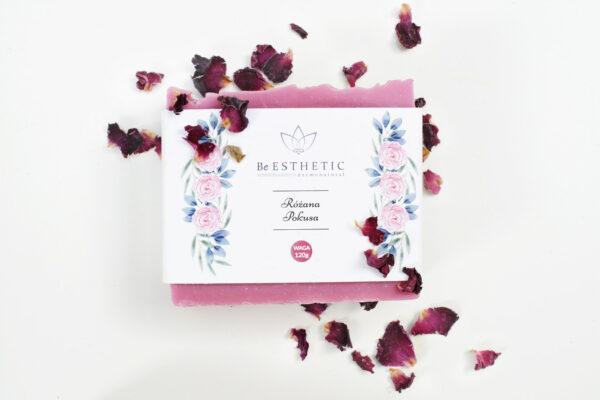 Mydlo naturalne Różana pokusa