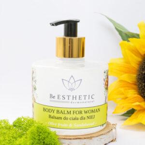 Naturalny balsam do ciala dla kobiet
